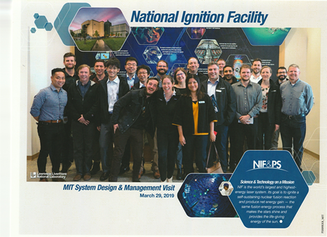 Students at Lawrence Livermore National Laboratory